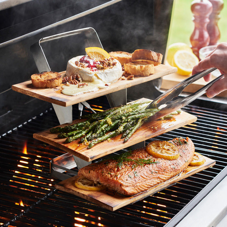Triple-Level Grilling Racks