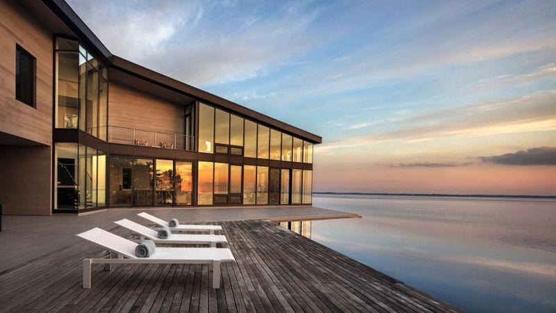 Luxurious Cedar-Clad Houses