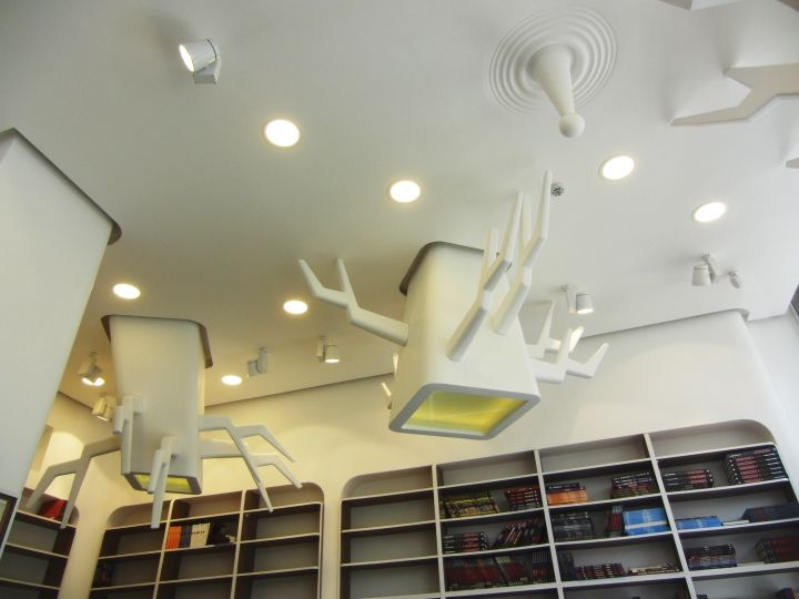 Imaginative Bookstore Ceilings