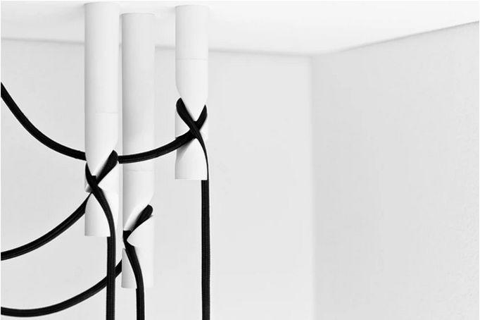 Kinky Cord Hangers Ceiling Lamp Hook