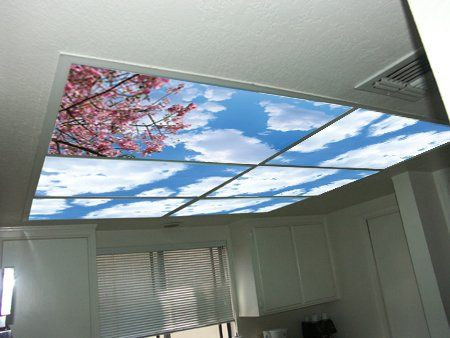 Sky-imitating Ceiling Panels