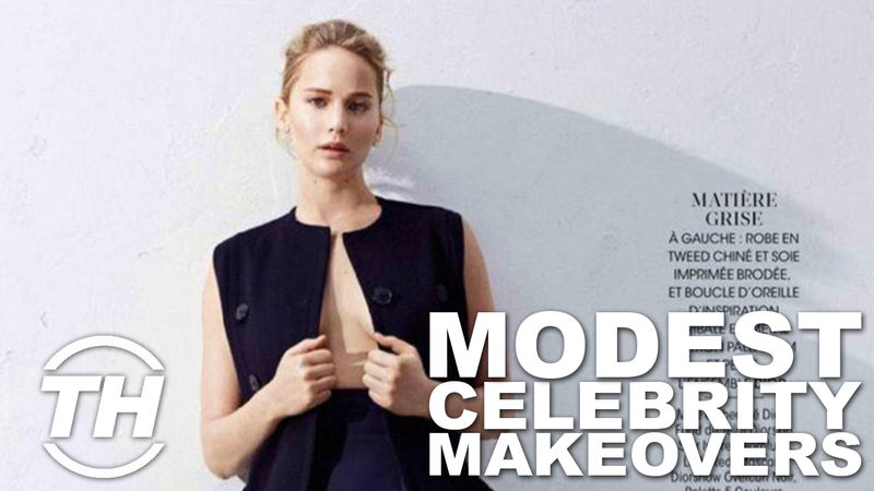 Modest Celebrity Makeovers