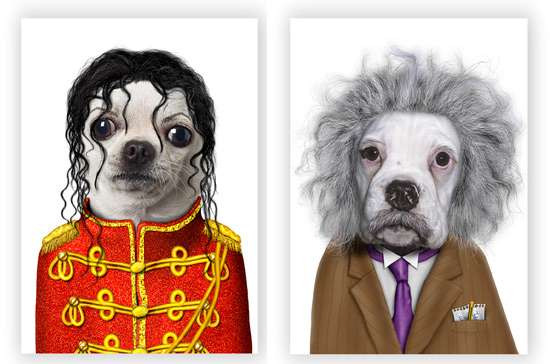 Famous People Pet Portraits