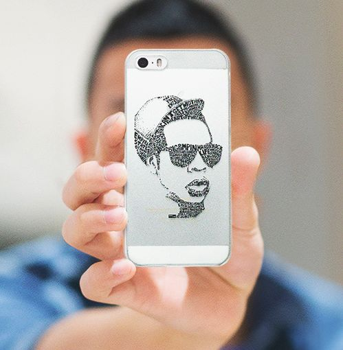Lyrical Portrait Phone Cases