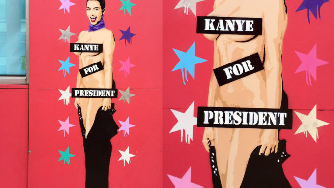 Scandalous Celebrity Murals