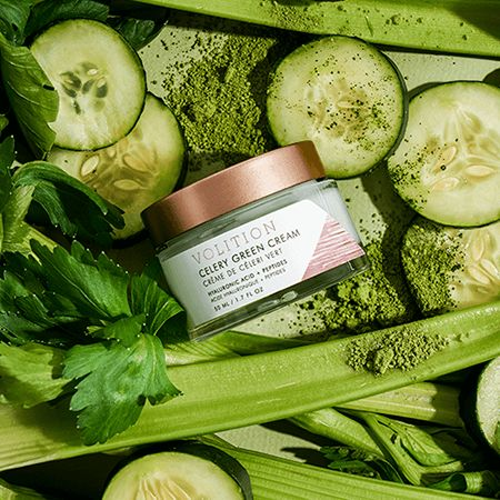 Celery-Powered Moisturizers - 'Celery Green Cream' Takes Cues from the Benefits of Celery Juice (TrendHunter.com)