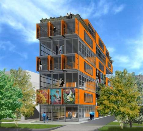 Green Container Condos Salt Lake City Center Lofts