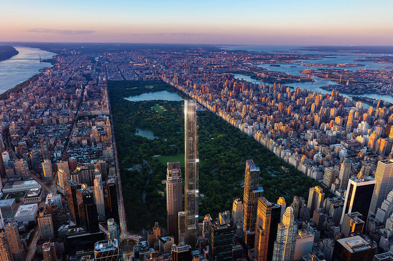 Ultra-Luxurious Skyscraper Condominiums