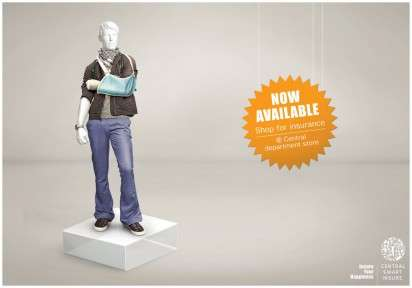 Injured Mannequin Campaigns