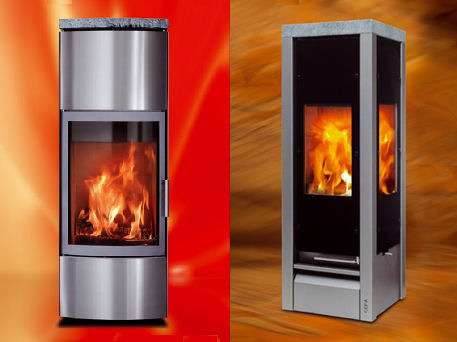 Stylish Wood Burning Fireplaces