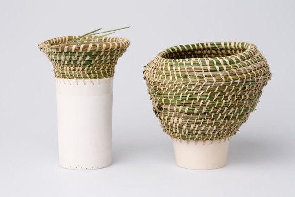 Mixed Media Vases