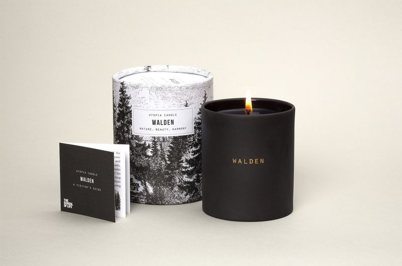 Poet-Inspired Candles