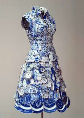 Ceramic Couture Clothes Made Of Porcelain