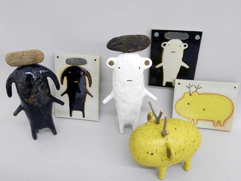 Quirky Ceramic Figurines
