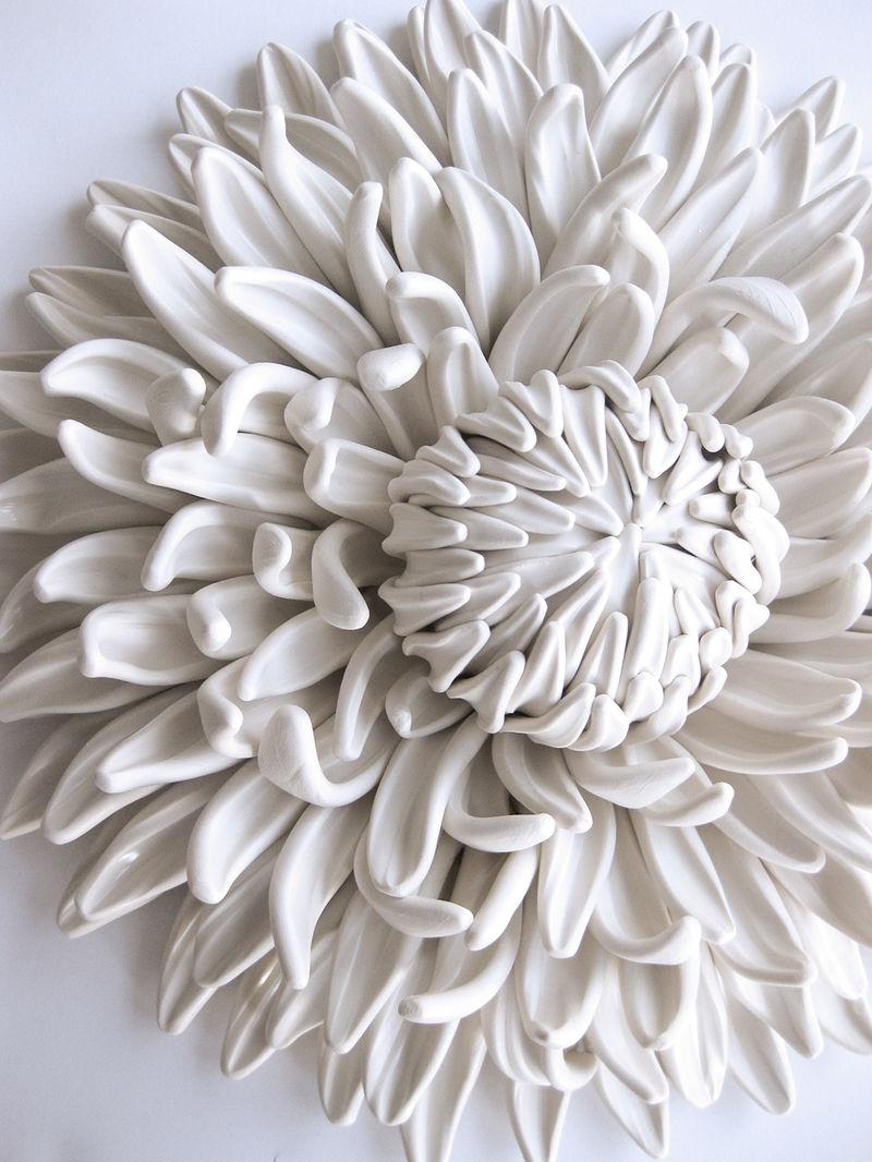 Ceramic Flower Sculptures Ceramic Flower