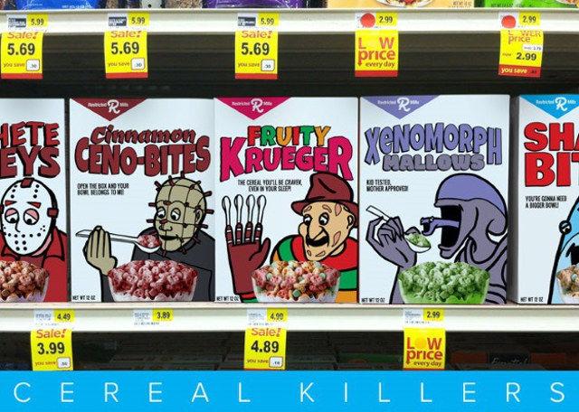 Serial Killer Cereals