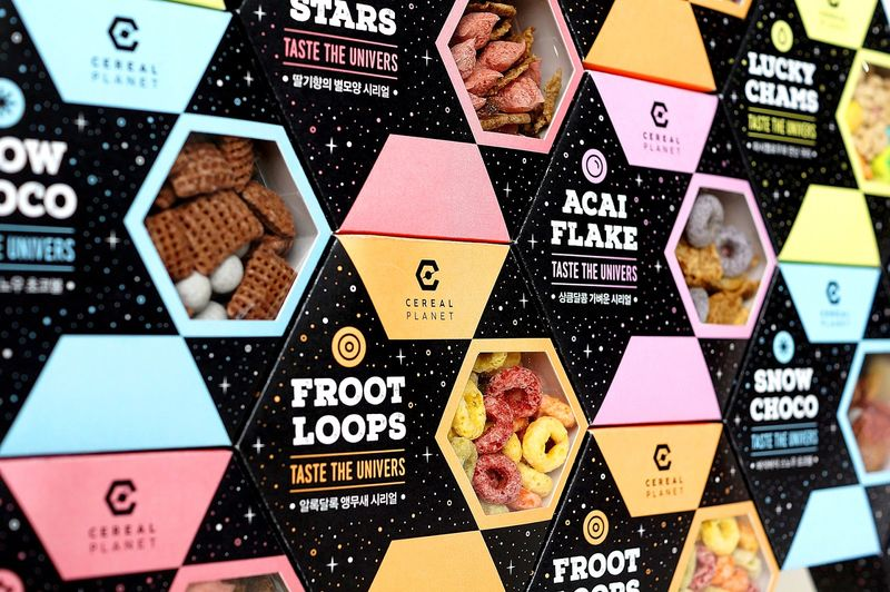 Hexagonal Cereal Packaging