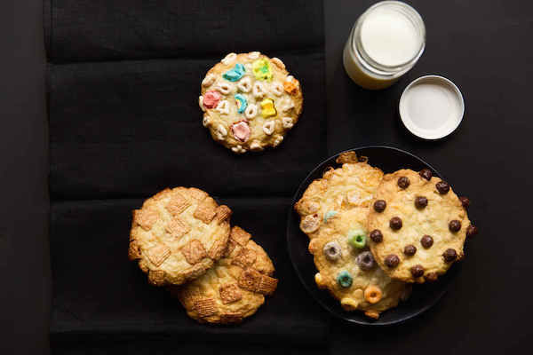 Breakfast Cereal Cookies