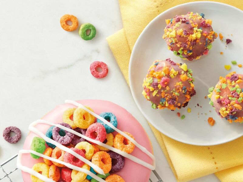 Cereal-Crusted Donuts
