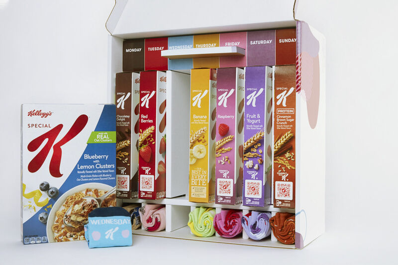 Sock-Paired Cereal Kits