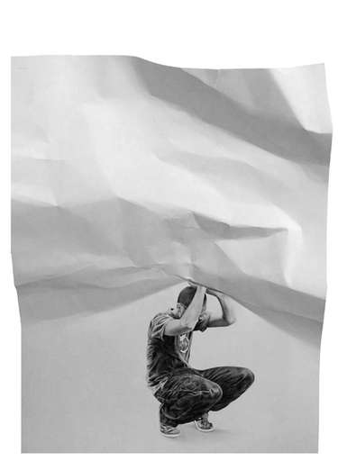 Interactive Paper Portraits