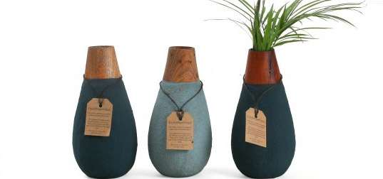 Biodegradable Vases