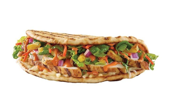 Ultra-Spicy Flatbread Sandwiches