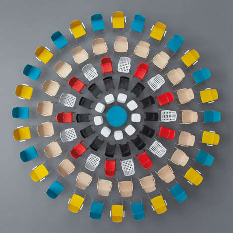 Vibrant Furniture Art