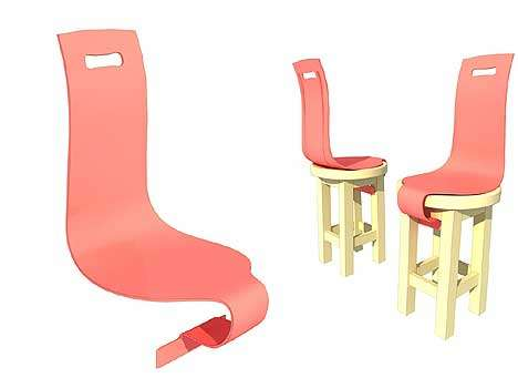 Backs for Backless Chairs