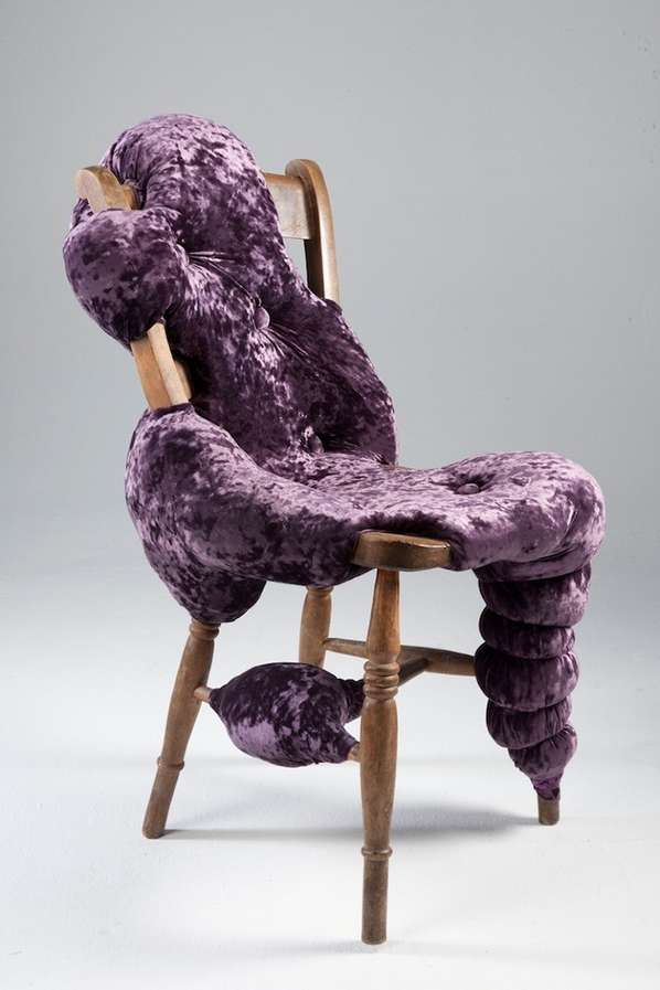 Couture Biomorphic Furniture Chair Frames