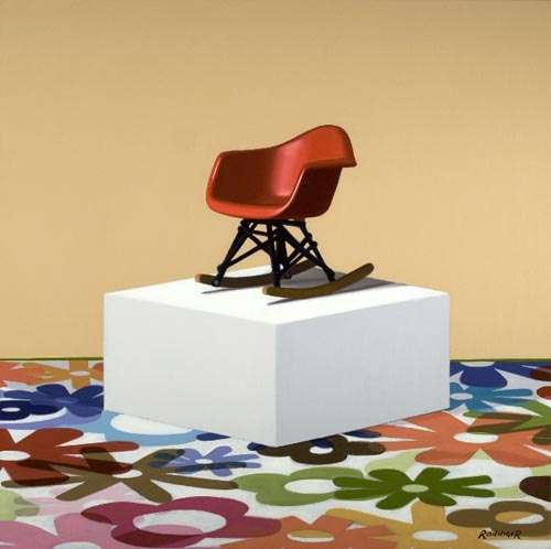Photorealistic Chair Paintings
