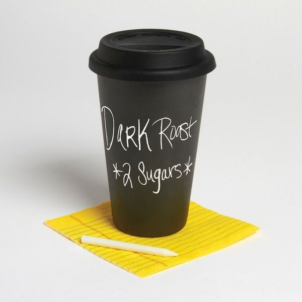 Defiantly Eco Chalkboard Mugs