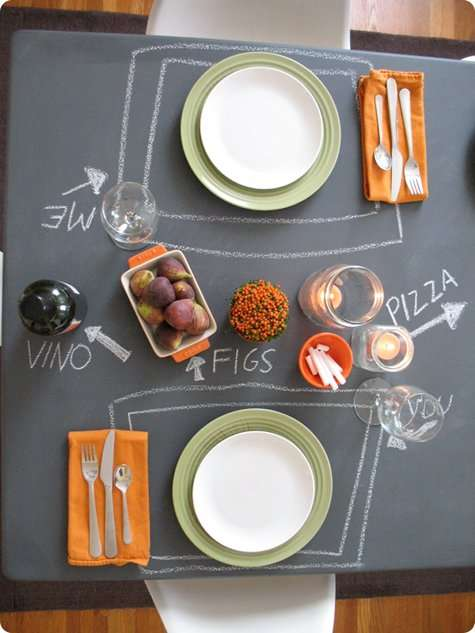 Chalkboard Tables