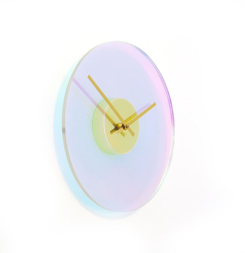 Color-Changing Wall Clocks