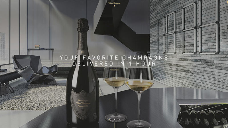 One-Hour Champagne Deliveries