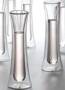 Insulated Glassware: The Double-Walled Champagne Flute