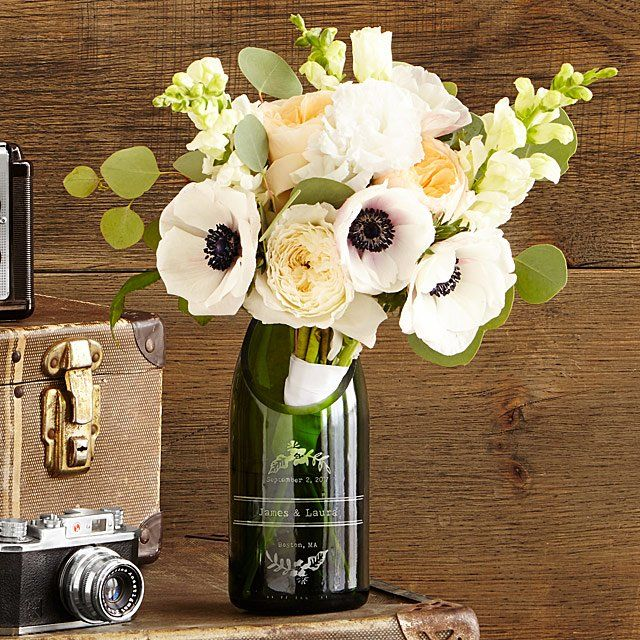 Personalized Upcycled Vases