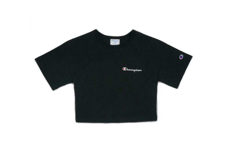 a2dfb8bf566 Cropped Logo Shirt Collections : Champion's Cropped Shirts