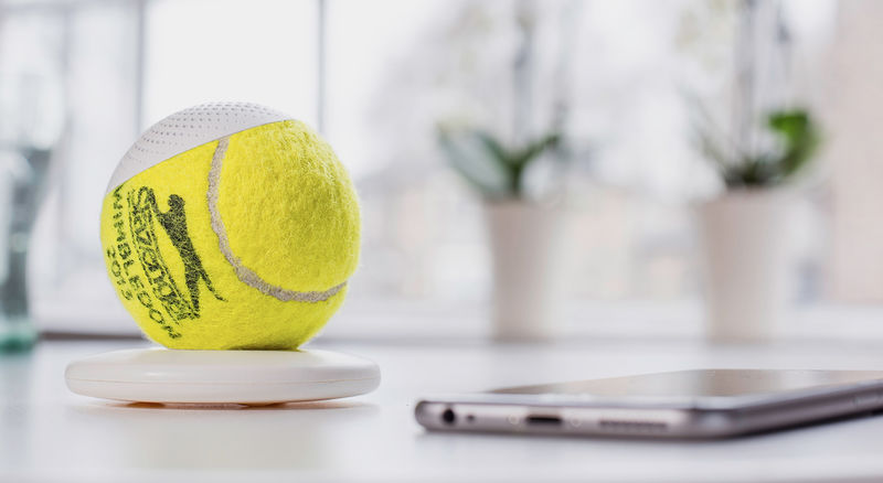 Tennis Ball Speakers