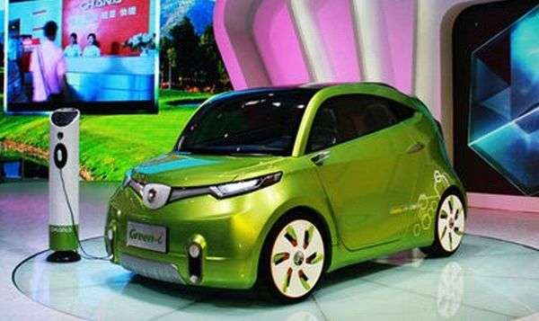 Tiny Lime Electrocars