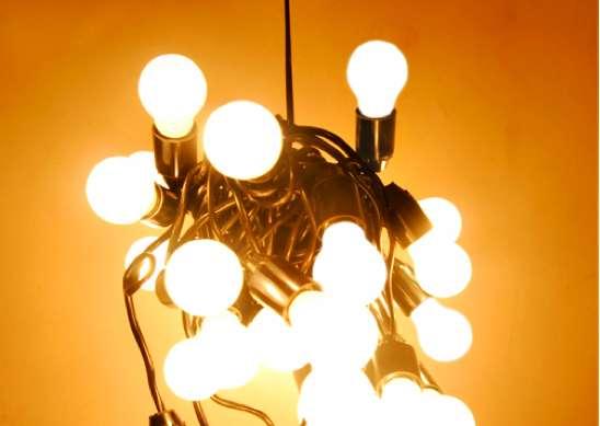 Tangled Dangling Lamps