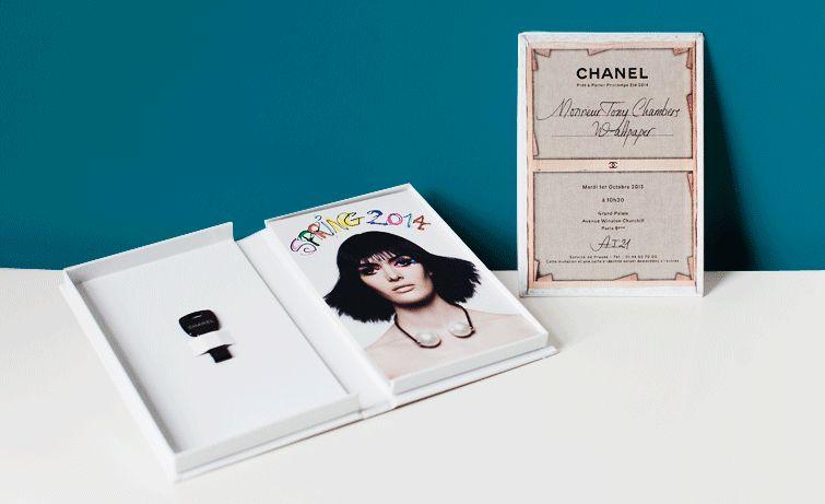 """Artful Fashion Invitations : """"chanel fashion show invitation"""""""