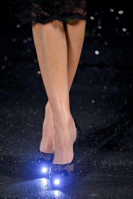Illuminated Designer Heels