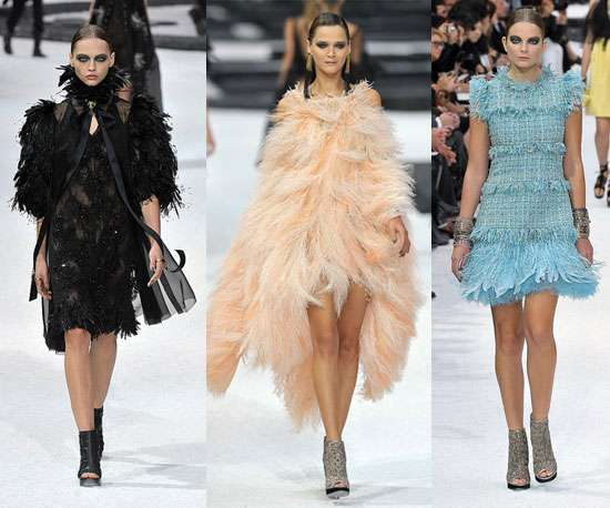 Extreme Feathered Frocks