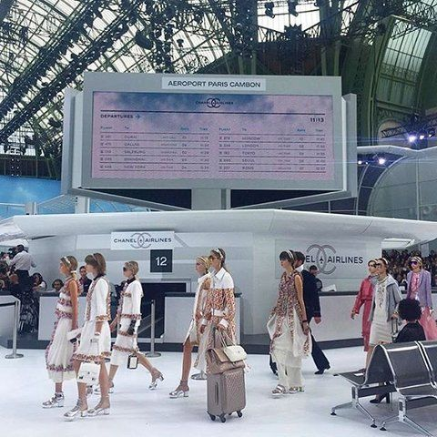 Airport-Themed Fashion Shows