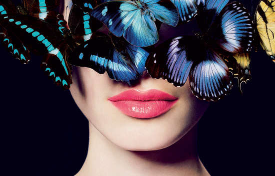 Butterfly Clad Beauty Editorials