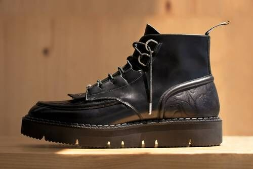 Rugged Leather Boot Designs