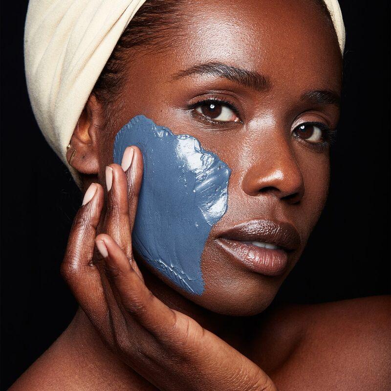 Blue-Hued Detoxifying Masks