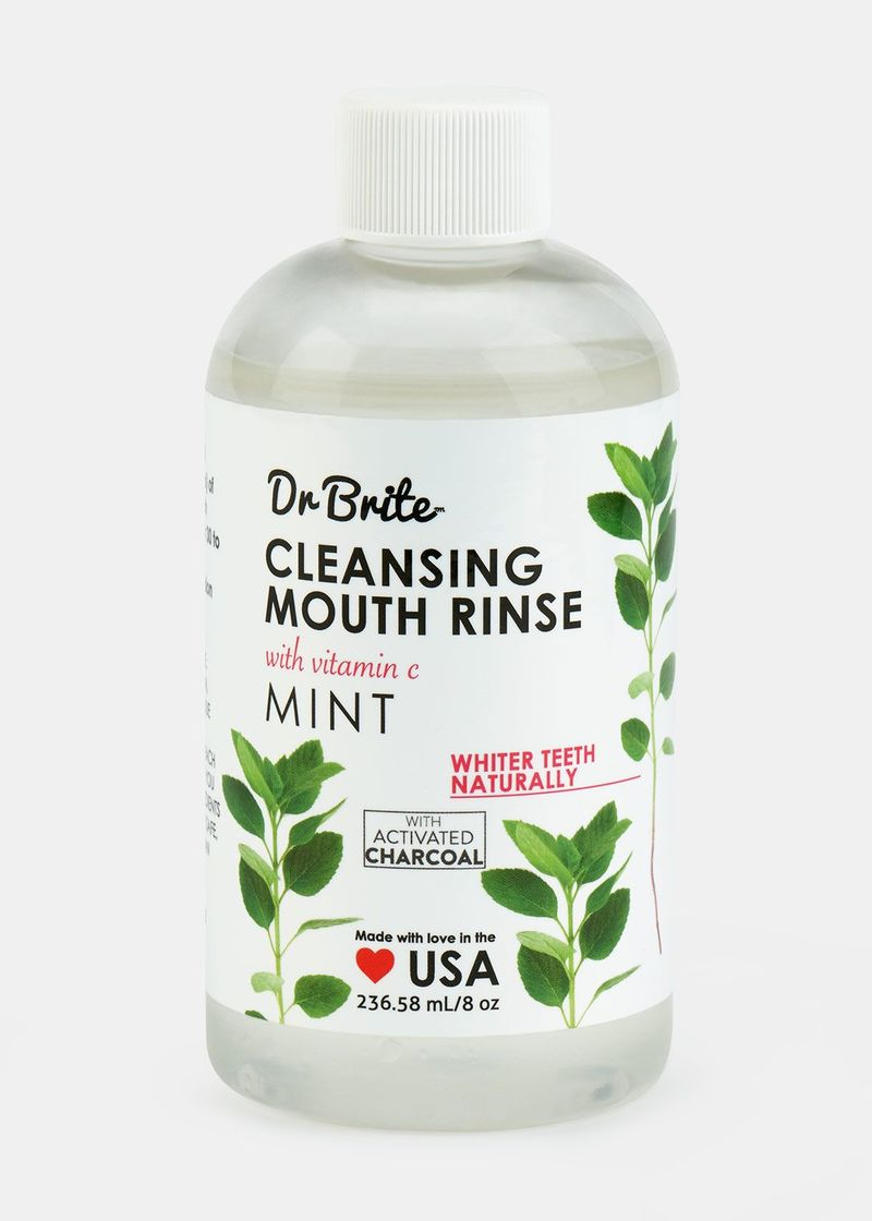 Activated Charcoal Mouthwashes