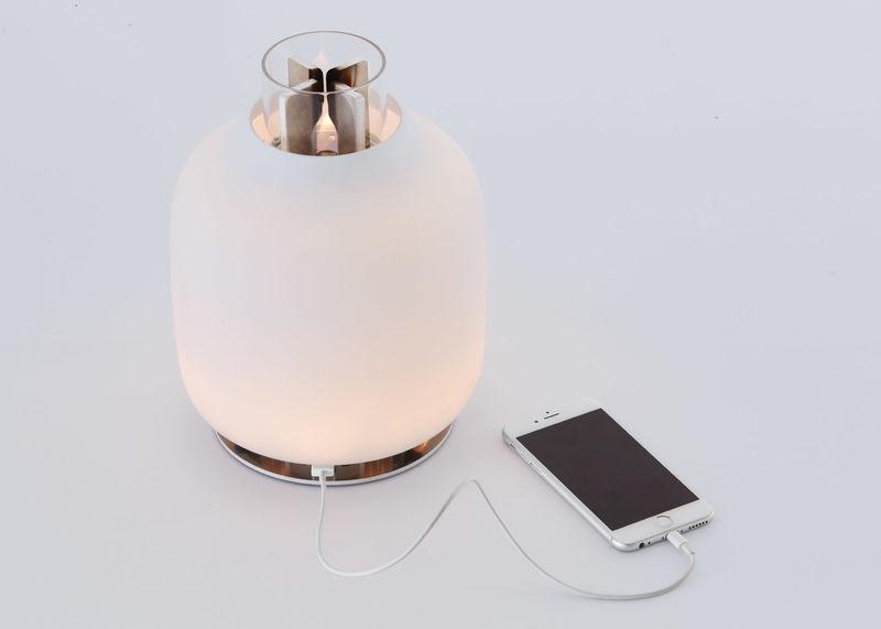 Phone-Charging Lamps